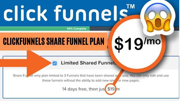 ClickFunnels Share Funnel Plan