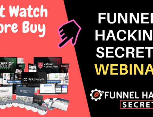 Funnel Hacking Secrets Webinar 2021 ᐈ Watch It FREE Here