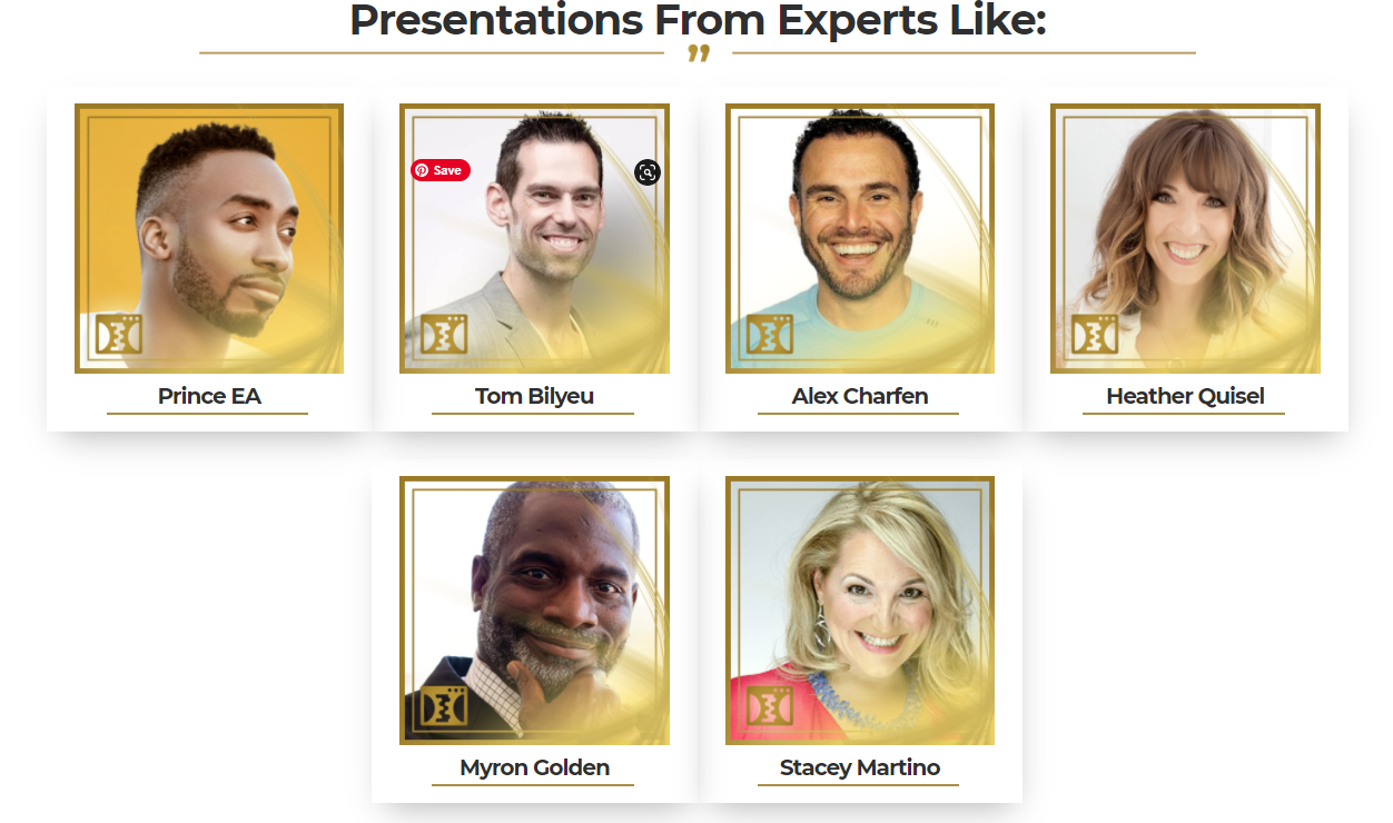 Presentations From Experts